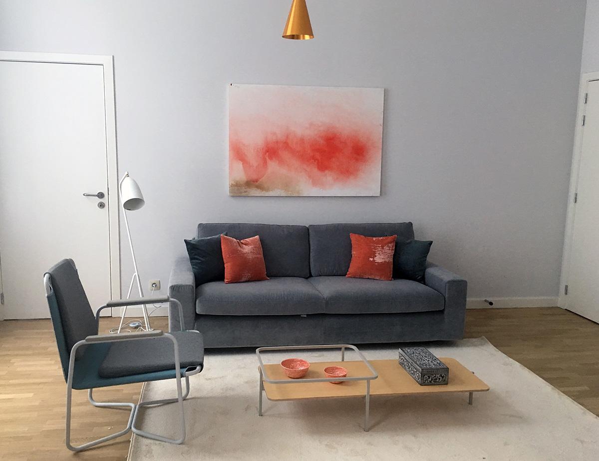 Appartement rue de Livourne, Ixelles